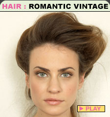 1920s Hairstyles Updo A beautiful updo vintage