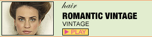 Romantic Vintage Hairstyle
